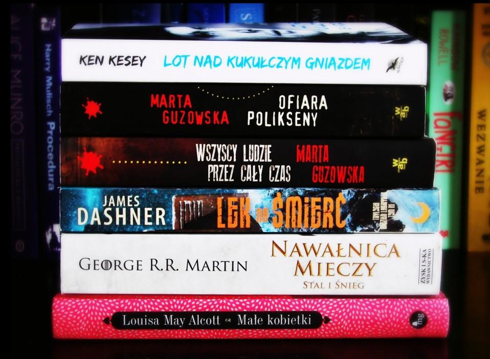 Książki kwiecień 2015